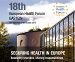 European Health Forum Gastein 2015
