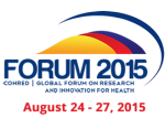Global Forum on Research and Innovation for Health 2015
