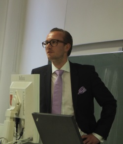 Andreas Habertheuer at the Going USA lecture © ACW